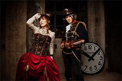 Le groupe de musique Angela à Japan Expo