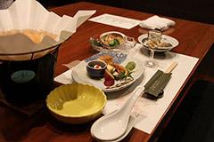 Repas kaiseki : une multitude de petits plats