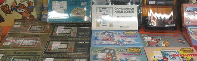 Game & Watch, consoles toute génération à Akihabara