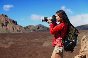 Reflex pour filmer en voyage