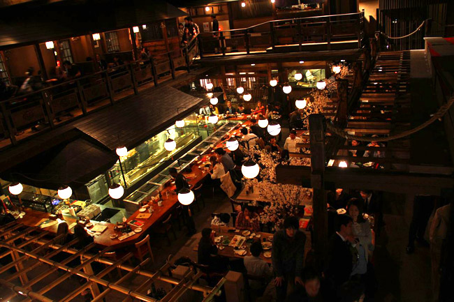 Gonpachi le restaurant de Kill Bill