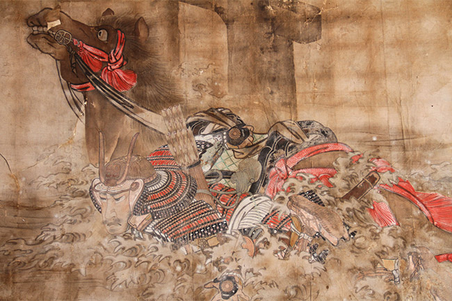 Peinture dans le Senjokaku