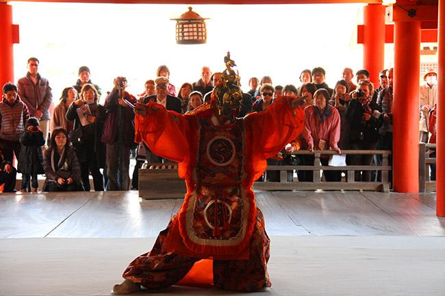 Ranryohoh et danse bugaku