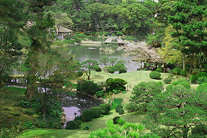 Sukkei-en : jardin japonais