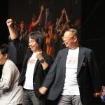 Shigeru Miyamoto faisant Mario