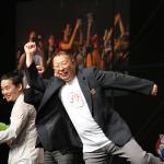Takashi Tezuka faisant Mario