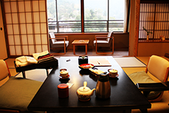 Chambre d'un ryokan