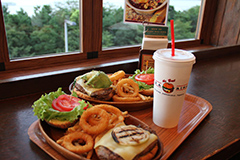 Burger à Odaiba