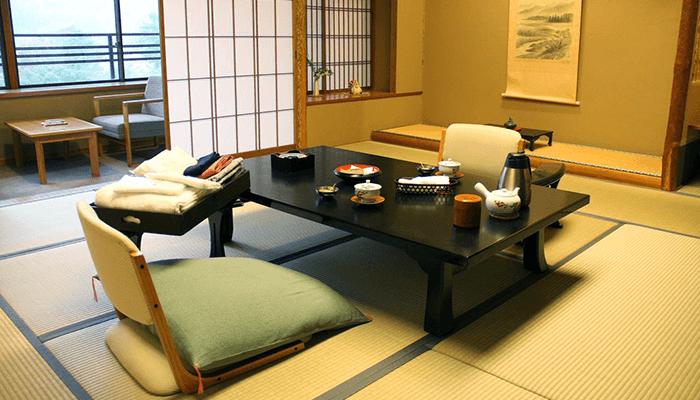 Chambre de style japonaise