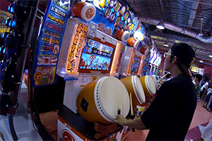 Game center à Yokohama