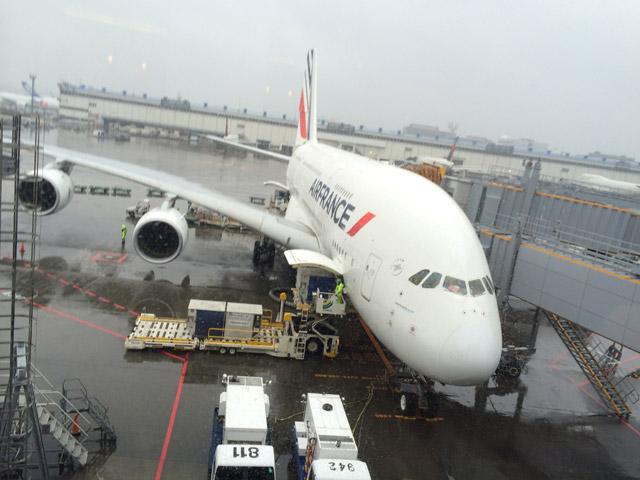 A380 à Narita