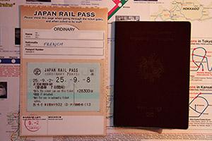 Dos du JR Pass