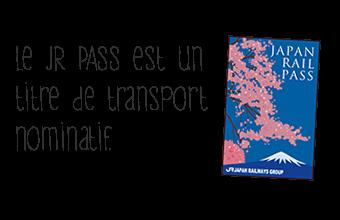 Représentation graphique du titre de transport japonais JRP