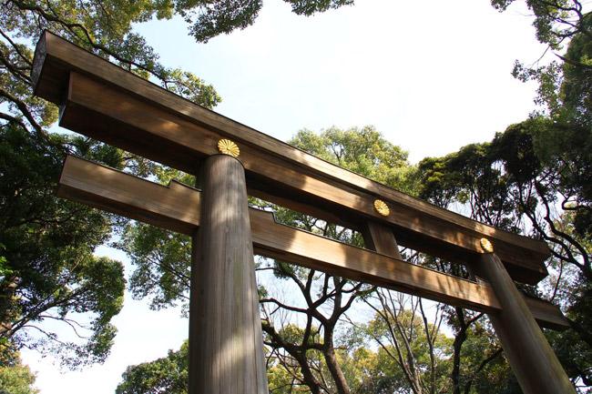 Torii du Meiji-Jingu