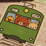 Autocollant Rilakkuma Yamanote