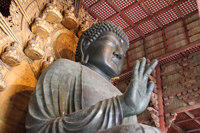 Grand bouddha du Todai-ji