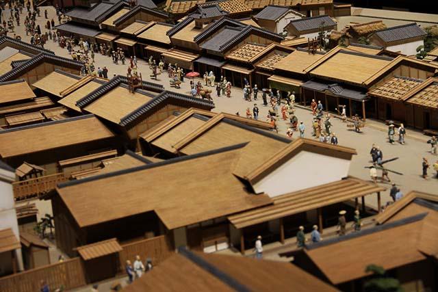 Balade dans le musée Edo à Tokyo