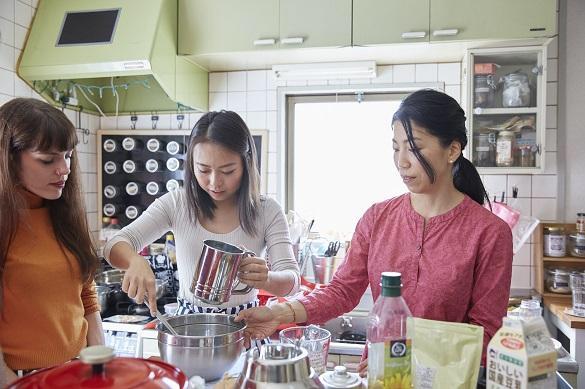 Faire à manger au Japon