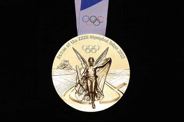 Médaille d'or Jeux Olympiques de Tokyo