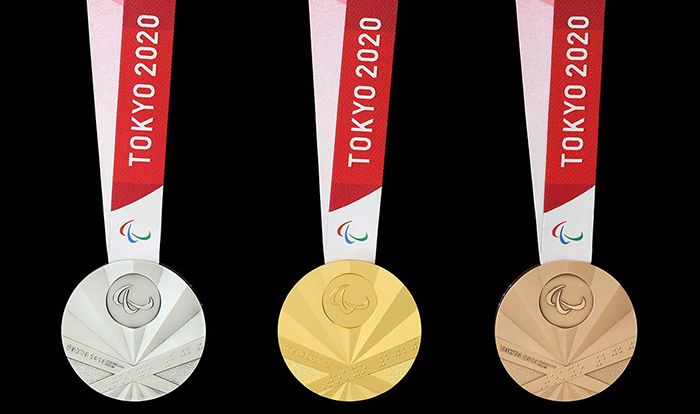 Médailles des Jeux paralympiques Tokyo 2020