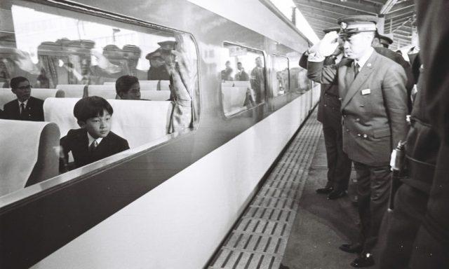 Le prince héritier Naruhito en 1968
