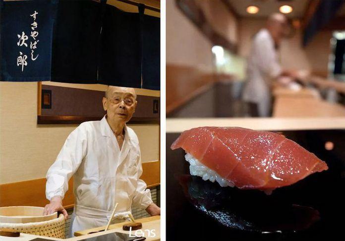 Le maître sushi Jiro Ono à Ginza : maîtrise parfaite de la cuisine nippone