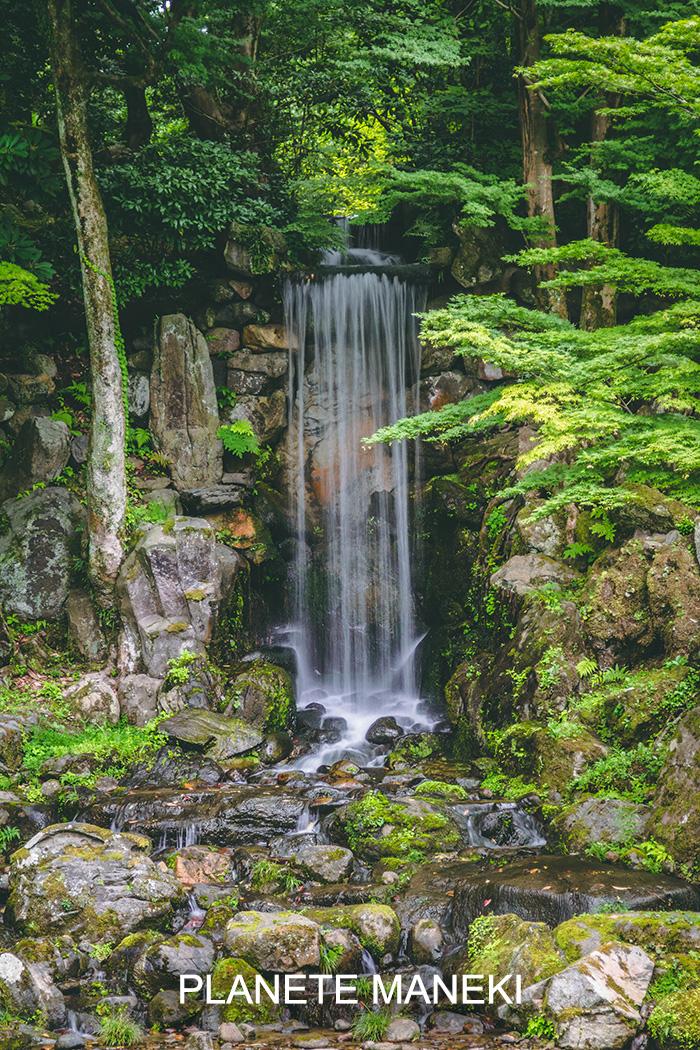 Cascade au Kenrokuen