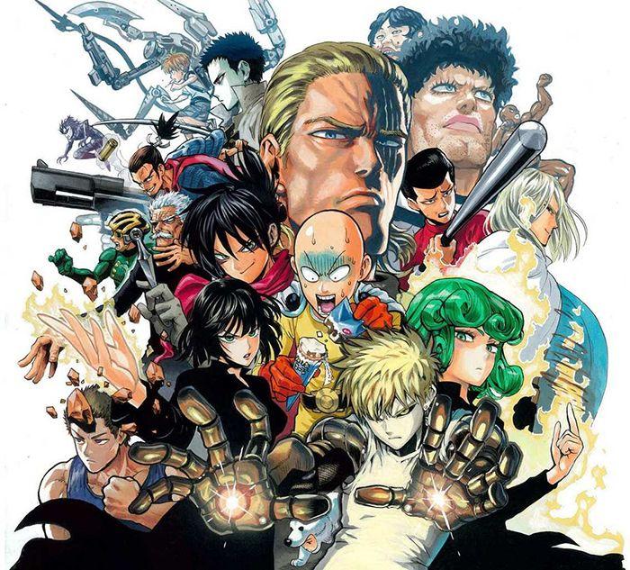 Personnages du manga de Yusuke Murata