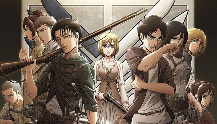 Héros de Shingeki no Kyojin