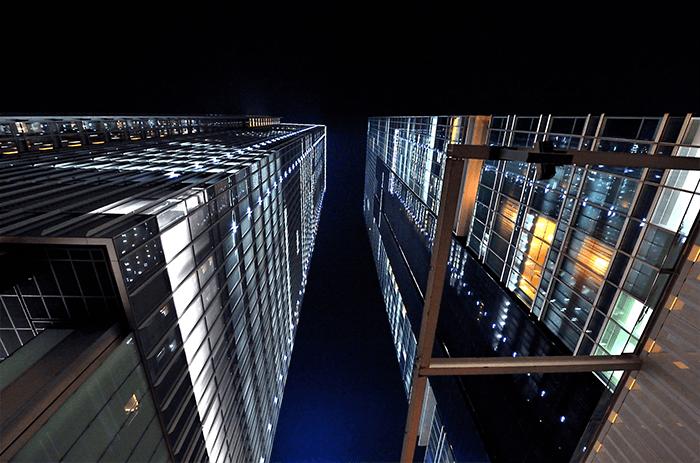 Buildings dans le quartier de Marunouchi à Tokyo