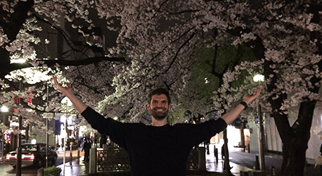 Voyage pendant les sakura à Kyoto